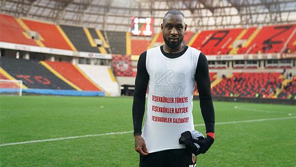 "Gaziantep FK'li futbolcu Kana Bıyık ""dalya"" dedi"