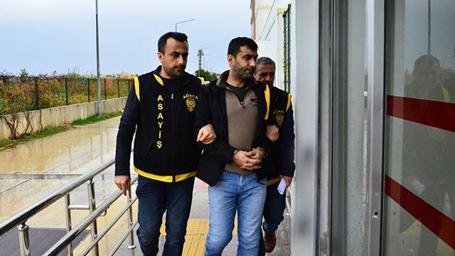 Adana'da açık cezaevine geçince firar eden cinayet hükümlüsü yakalandı