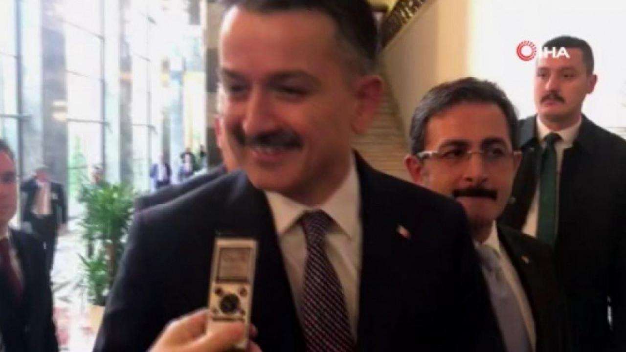 Muhalefetin iddiası Bakan Pakdemirli'yi güldürdü!
