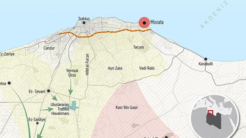 BAE SİHA'ları Libya'da Hava Harp Okulu'nu bombaladı