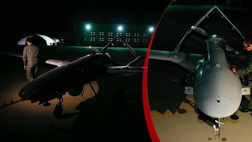 Türkiye'den KKTC'ye ilk İHA havalandı