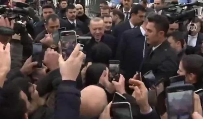 Cumhurbaşkanı Erdoğan Cenevre'de coşkuyla karşılandı!
