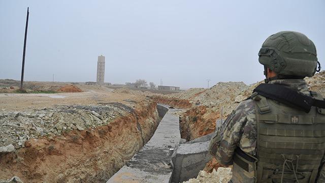 MSB: Kahraman Komandolarımız Resulayn'da terör örgütüne ait yeni tünel tespit etti