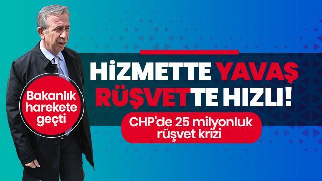 CHP'li Mansur Yavaş ile ilgili 25 milyon liralık rüşvet krizi! Bakanlık harekete geçti