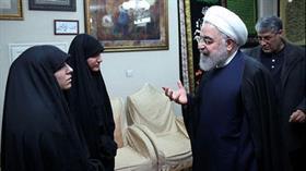 Kasım Süleymani'nin kızından Ruhani'ye: Babamın intikamını kim alacak?