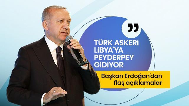 Başkan Erdoğan canlı yayında önemli açıklamalarda bulunuyor
