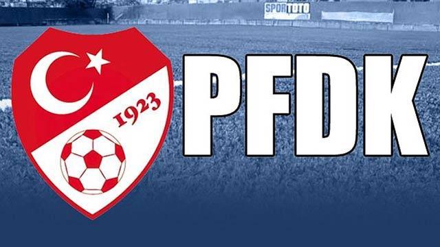 G.Saray, Beşiktaş, F.Bahçe ve Sivasspor PFDK'lık oldu