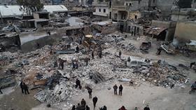 Esed güçleri İdlib'e saldırıya geçti