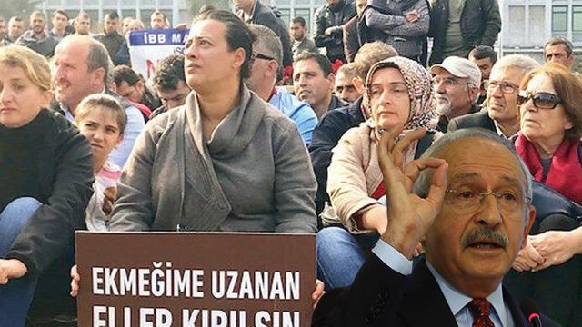 Kemal Kılıçdaroğlu'ndan maaşını ödeyemediği işçilere asgari ücret vaadi