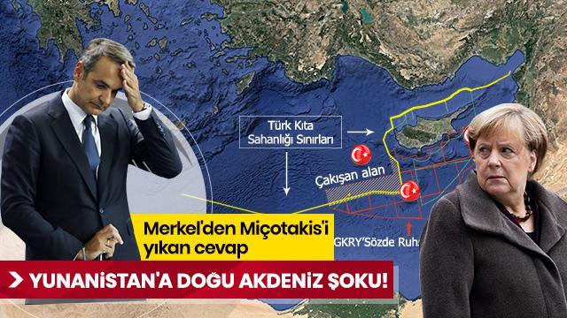 Almanya'dan Yunanistan'a Doğu Akdeniz şoku