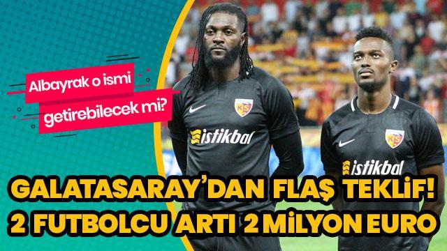 Galatasaray'dan flaş Mensah teklifi