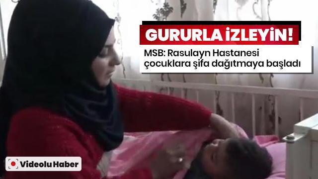 """""""Rasulayn Hastanesi çocuklara şifa dağıtmaya başladı"""""""