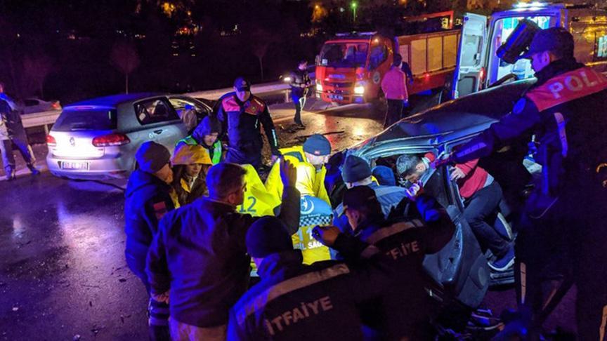 Edirne'de feci kaza: 3 ölü 2 yaralı