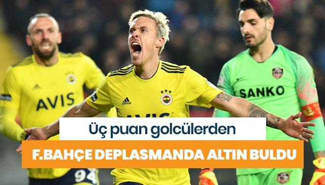 Fenerbahçe deplasmanda altın buldu
