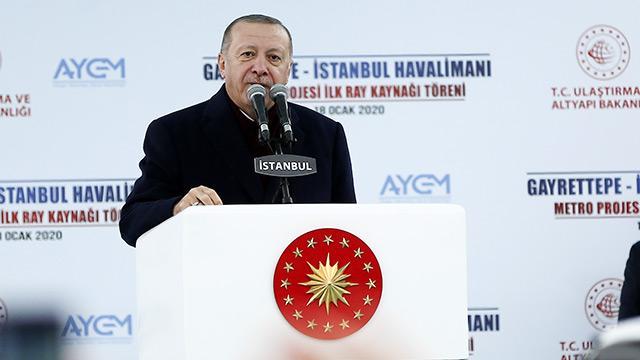 Başkan Erdoğan'dan Kılıçdaroğlu'na: Biz Suriye'de ilerleyeceğiz, sen Esed ile flörte devam et