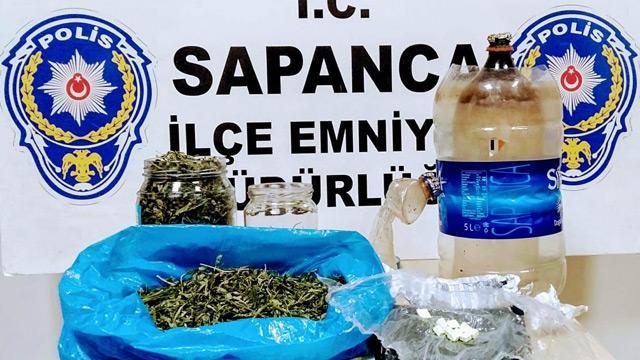 Sakarya'da uyuşturucu operasyonu: 2 kişi tutuklandı