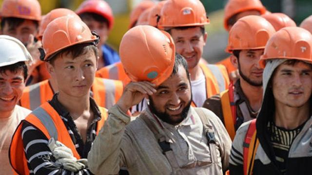 Kazakistan'da 1964'ü Türk olmak üzere, 19 bin 145 yabancı işçi çalışıyor