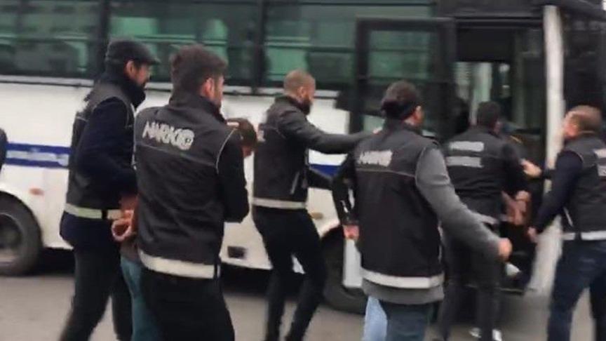 İstanbul'da uyuşturucu operasyonu: 61 gözaltı