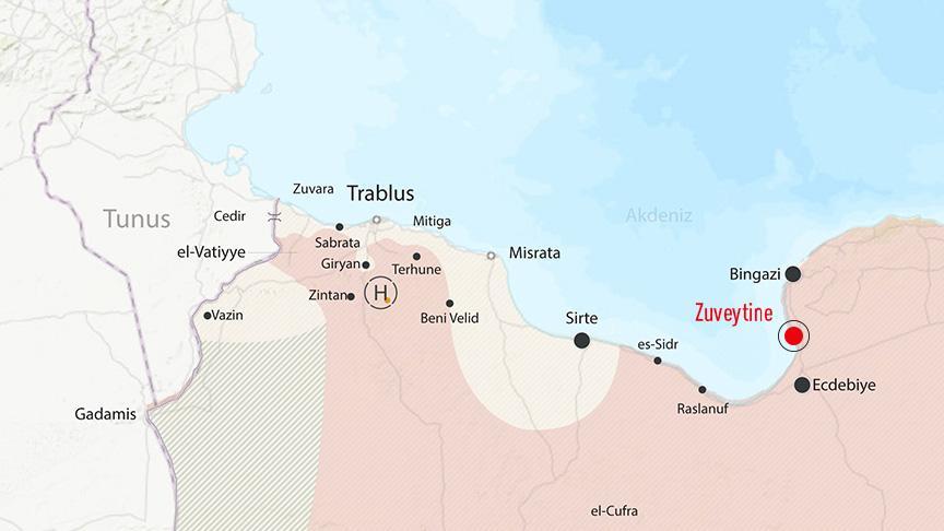 Darbeci Hafter destekçileri Zuveytine petrol ihraç limanını işgal etti