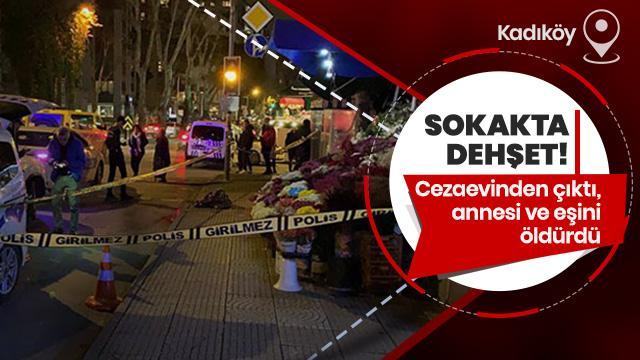 Kadıköy'de dehşet yaşandı!