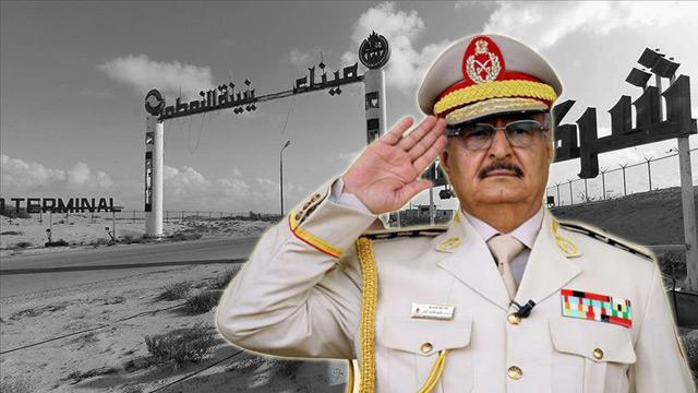 Libya Petrol Kurumu'ndan Hafter'e tepki: Petrol siyasi müzakere unsuru yapılmamalı