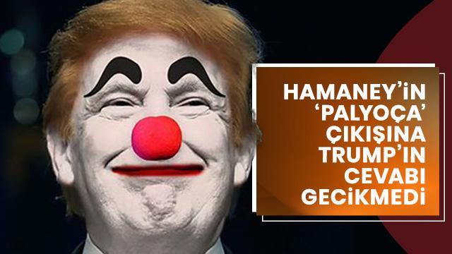 Trump'tan 'palyaço' cevabı: Hamaney sözlerine çok dikkat etmeli