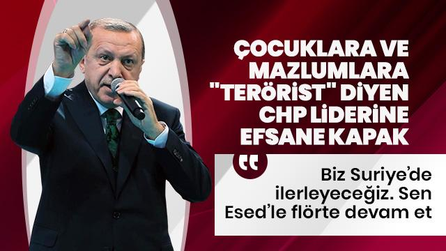 """""""Biz Suriye'de ilerleyeceğiz, sen Esed ile flörte devam et"""""""