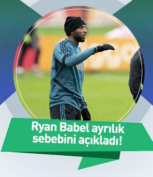 Ryan Babel Galatasaray'dan neden ayrıldığını açıkladı