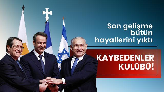 Yunanistan, Güney Kıbrıs Rum Yönetimi ve İsrail'in EastMed projesine darbe