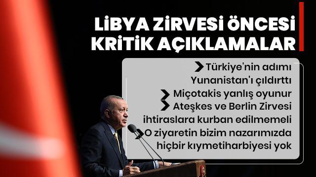 Başkan Erdoğan: Türkiye'nin hamlesi Yunanistan'ı çıldırttı