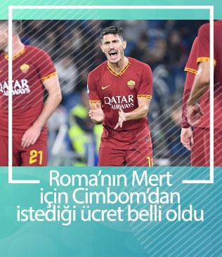Roma Mert için Galatasaray'dan 10 milyon Euro istiyor