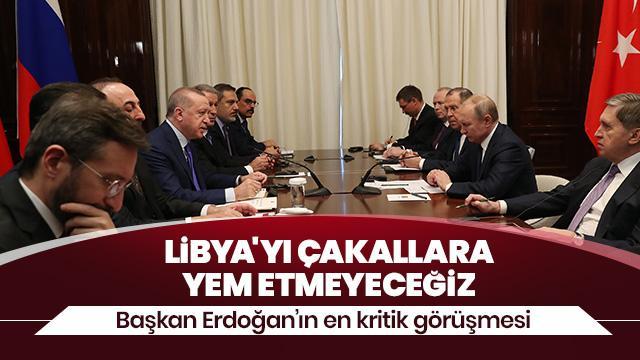 Başkan Erdoğan: Girişimlerimizin esas meyvesini Berlin Zirvesi'nde alacağız