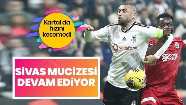 Nefes kesen mücadele Sivasspor'un