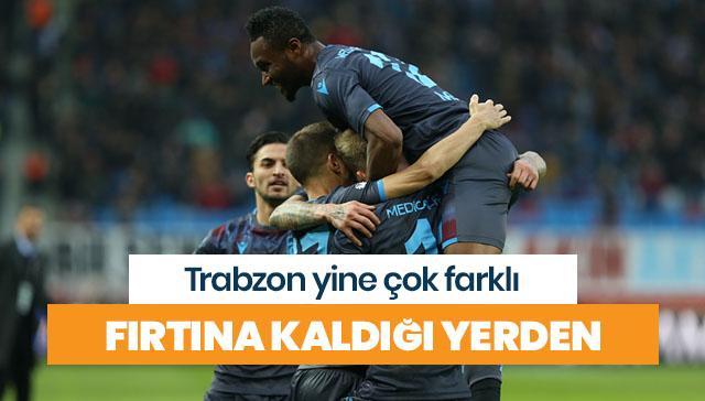 Trabzonspor yine çok farklı