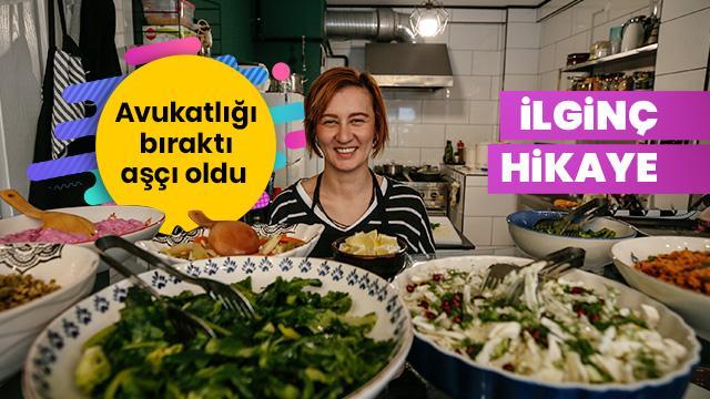İzmir'de avukatlığı bırakıp aşçı oldu