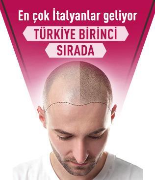 Türkiye saç ekiminde birinci sırada; en çok İtalyanlar geliyor