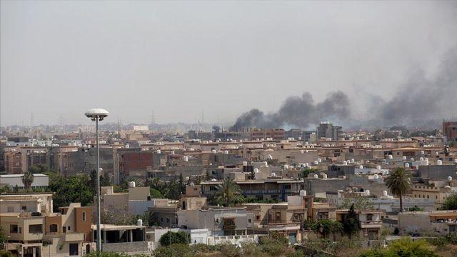 Libya'daki Hafter milislerinin başkent çevresinde ateşkes ihlali devam ediyor