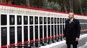 Azerbaycan'da 'Kanlı Ocak' kurbanları anılıyor