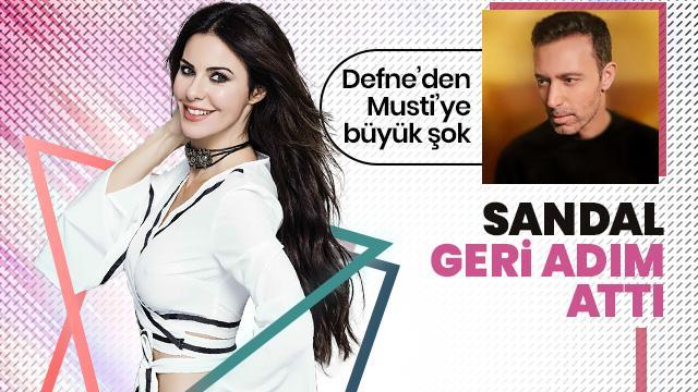 Defne Samyeli itirafıyla olay olmuştu! Mustafa Sandal geri adım attı