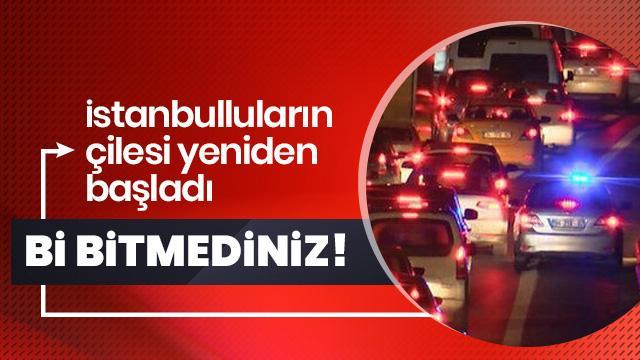 İstanbul'da sürücülerin 'çakar kabusu' yeniden başladı