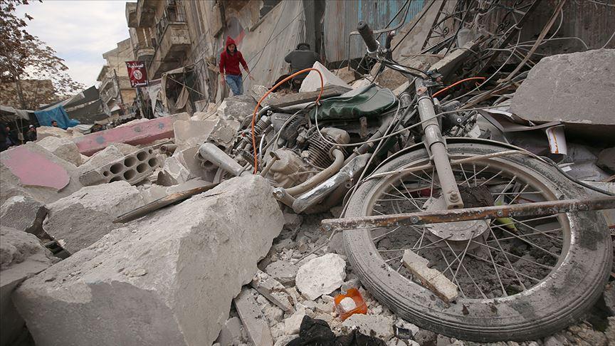 Rusya'nın İdlib Gerginliği Azaltma Bölgesi'ndeki saldırılarında 7 sivil öldü