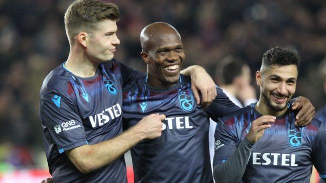 Trabzonspor rakiplerini gole boğuyor