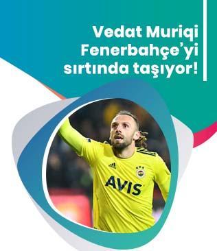 Vedat Muriç Fenerbahçe'yi sırtlamaya devam ediyor