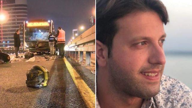 Metrobüs kazasında gözaltına alınan şoför serbest kaldı! Kazada Emrecan Azder yaşamını yitirmişti
