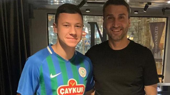 Çaykur Rizespor, Ukraynalı forvet Andrii Boriachuk'u kadrosuna kattı