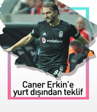 Yunan ekibi AEK'dan Caner Erkin'e sürpriz teklif