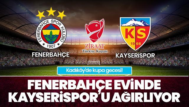 Fenerbahçe - Kayserispor CANLI ANLATIM