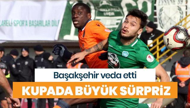 Türkiye Kupası'nda Kırklarelispor sürprizi! Başakşehir veda etti