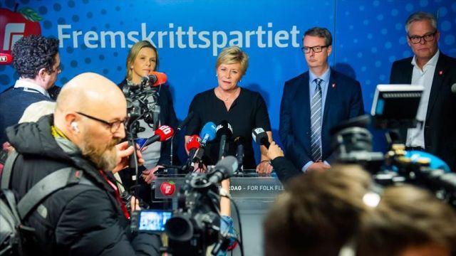 Norveç'te koalisyon hükümetinde 'DEAŞ' krizi