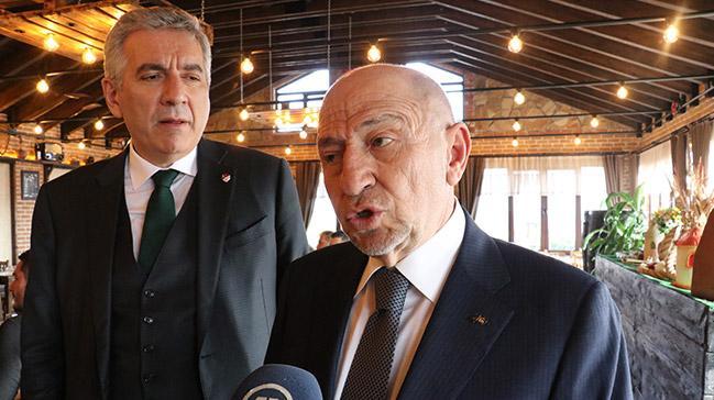 Nihat Özdemir'den Ali Koç'a cevap: Futbol takımlarımızın hiçbir hakkı ziyan olmaz